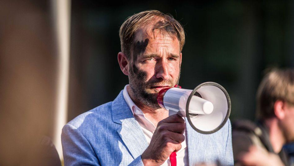 Aktionskünstler Philipp Ruch: Mitbegründer einer kriminellen Vereinigung?