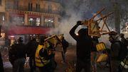 Protest in Frankreich eskaliert – Gewalt auf Straßen in Paris
