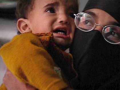 Saliha Shamas und ihr Sohn Osama: Bin Laden als Vorbild