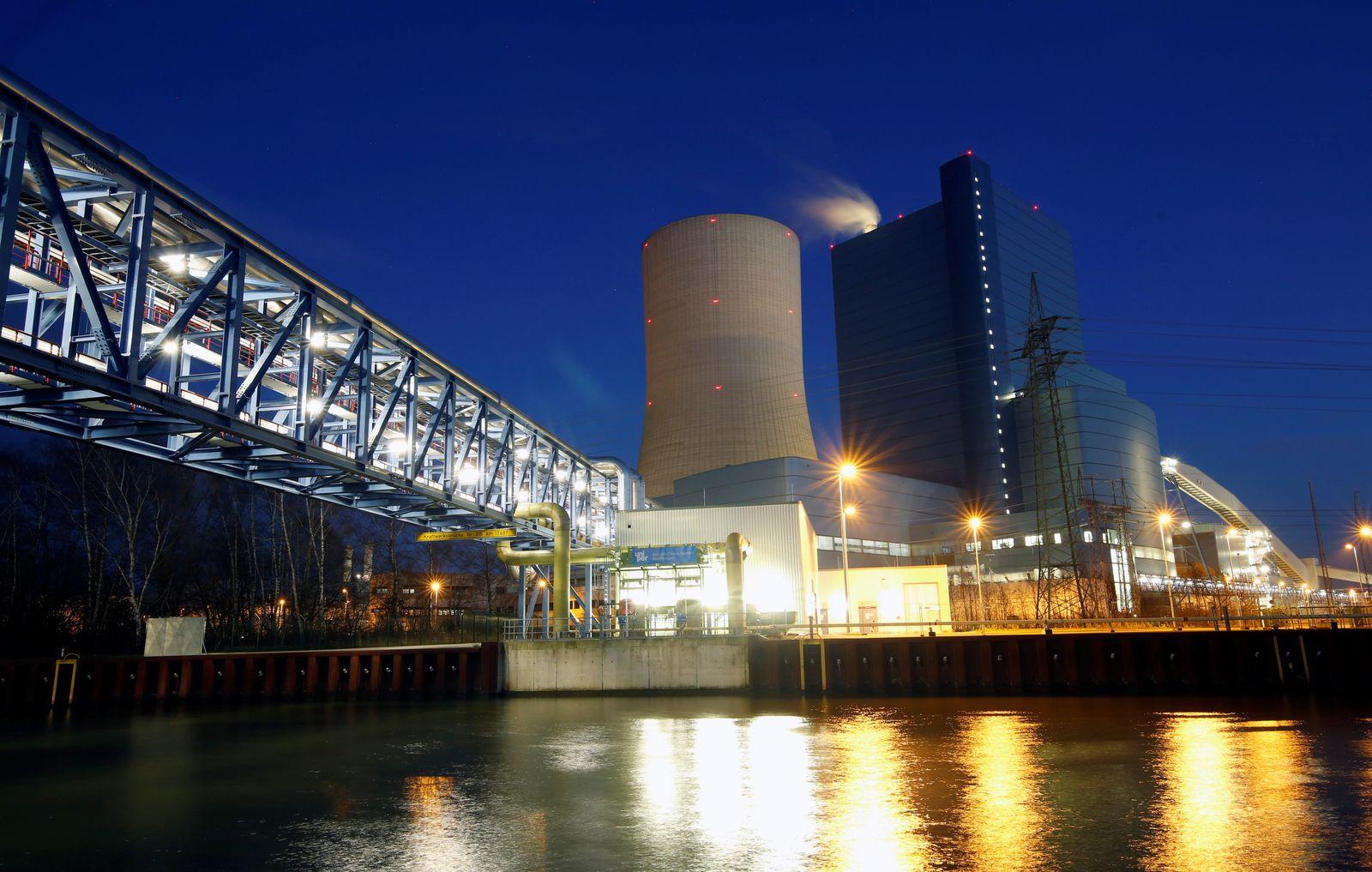 Uniper's coal-fired power plant Datteln 4