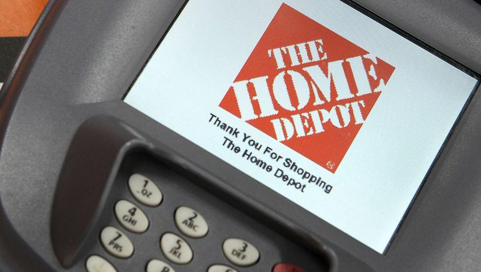 Kreditkartenterminal bei Home Depot: Die Angreifer nutzten eigens entwickelte Schadsoftware