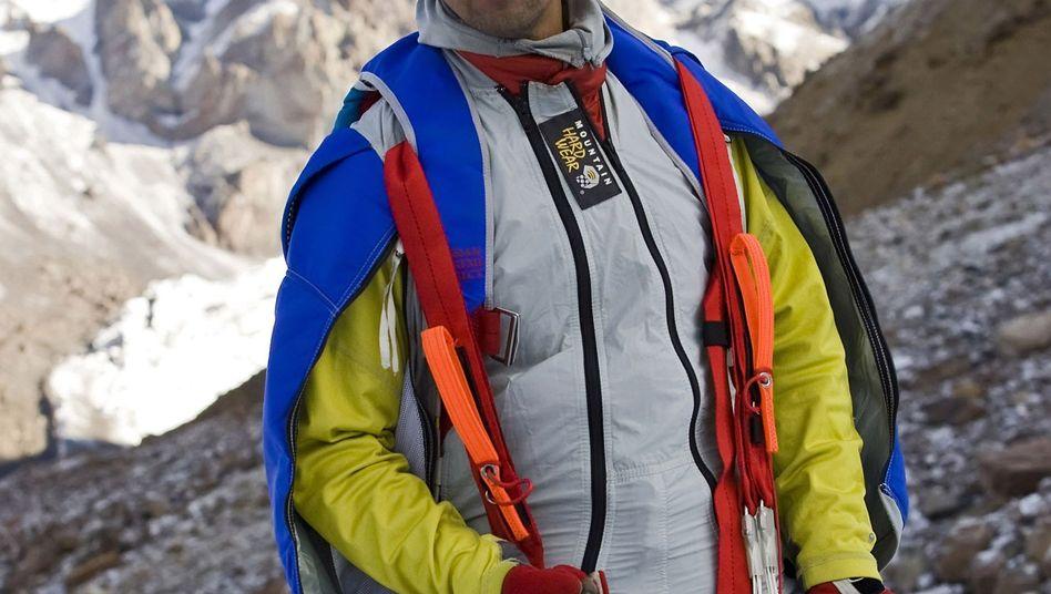 Walerij Rosow am Berg Elbrus 2008