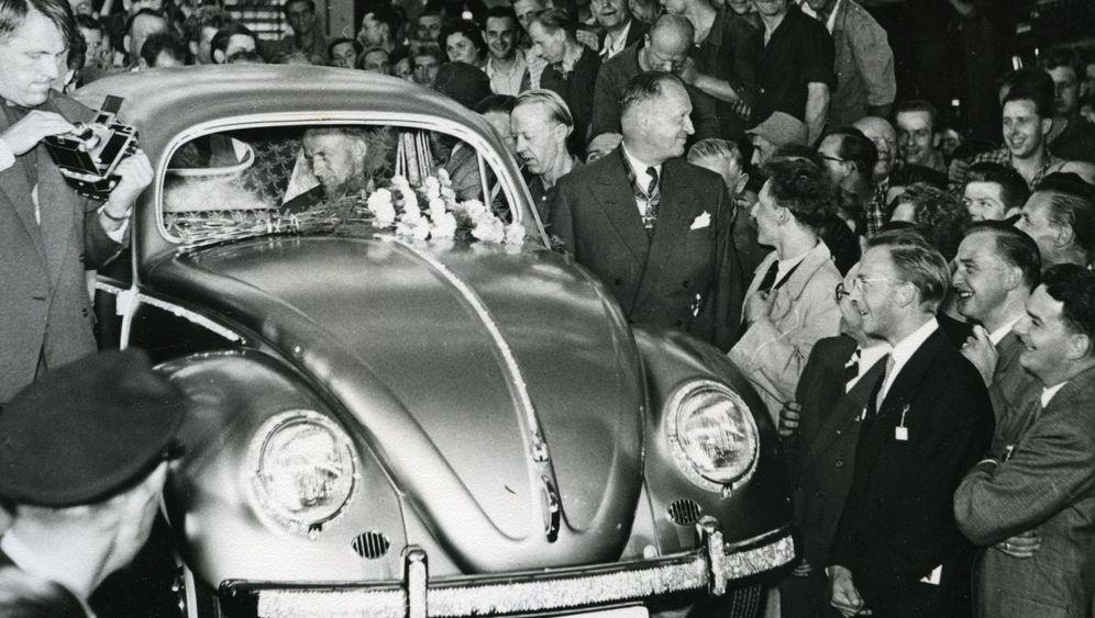 VW-Fotoschatz: Ölige Overalls, verschwitzte Gesichter, heiße Werkshallen