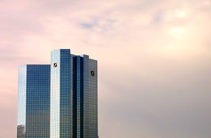 Deutsche Bank in Frankfurt: Kürzungen im Investmentbanking