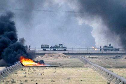 Krieg im Irak: Streubomben in besiedeltes Gebiet