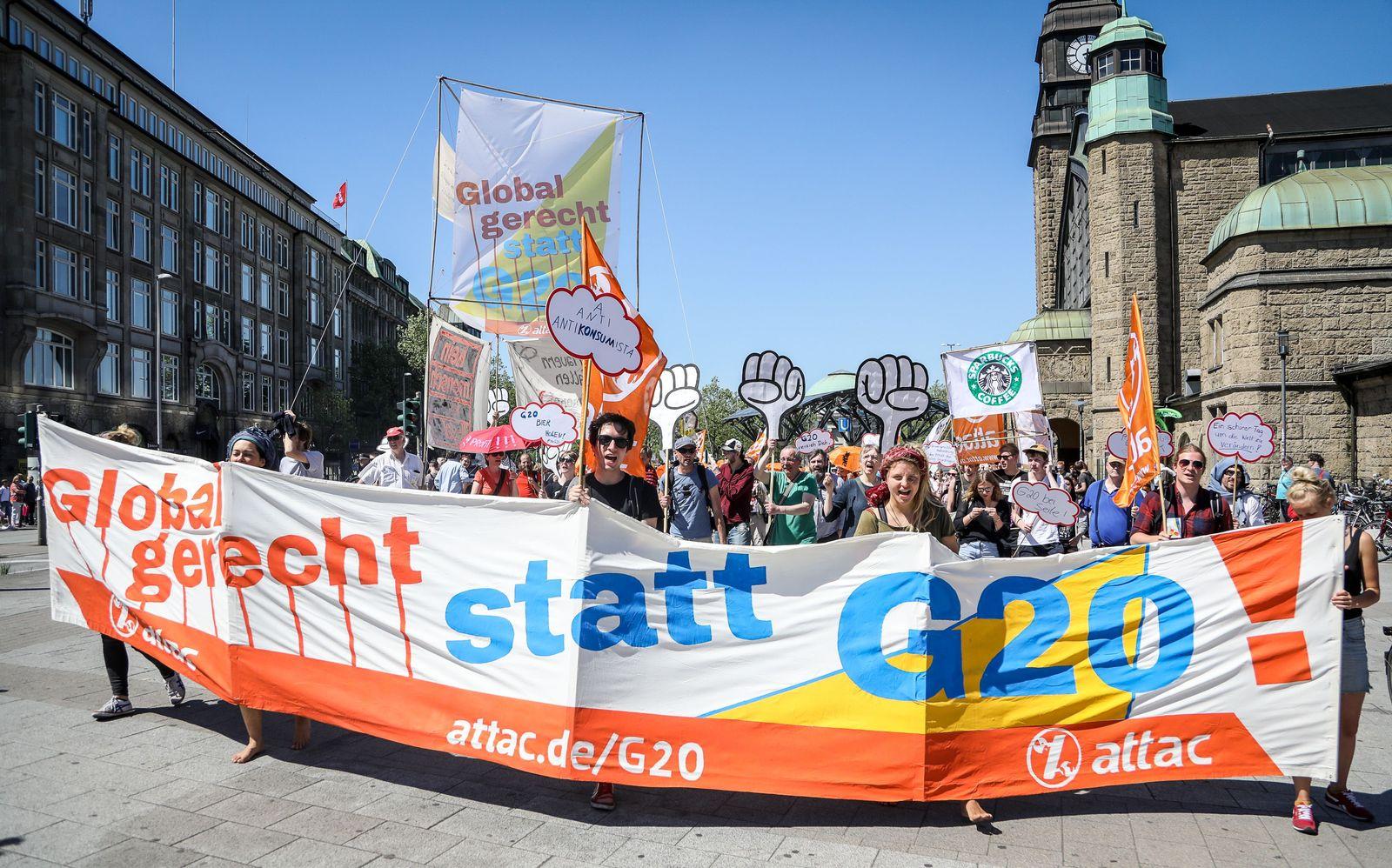 G20 / Protest / Demo