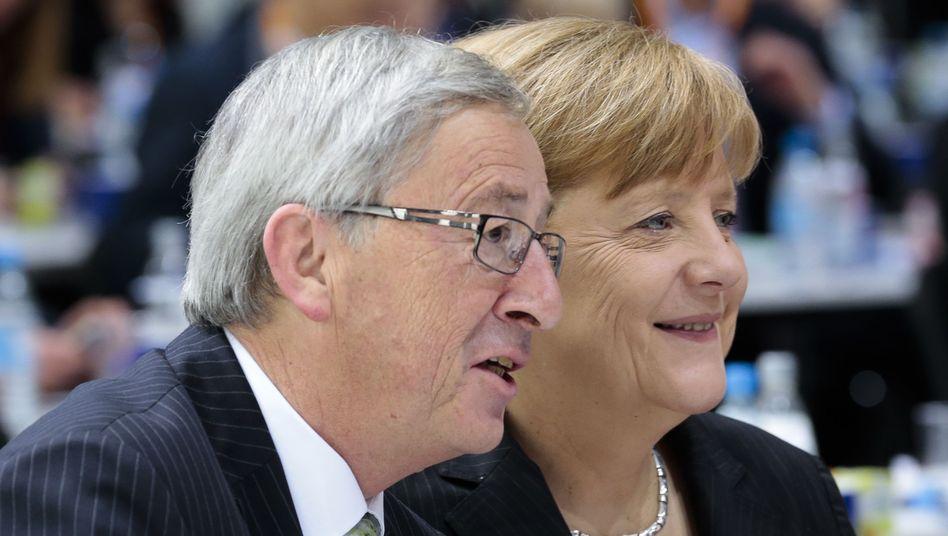 Bundeskanzlerin Merkel: Lobby-Arbeit für Juncker