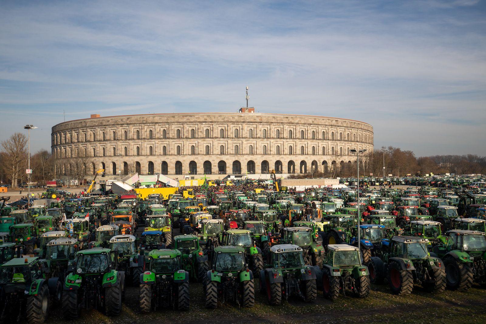 Bauernproteste - Nürnberg