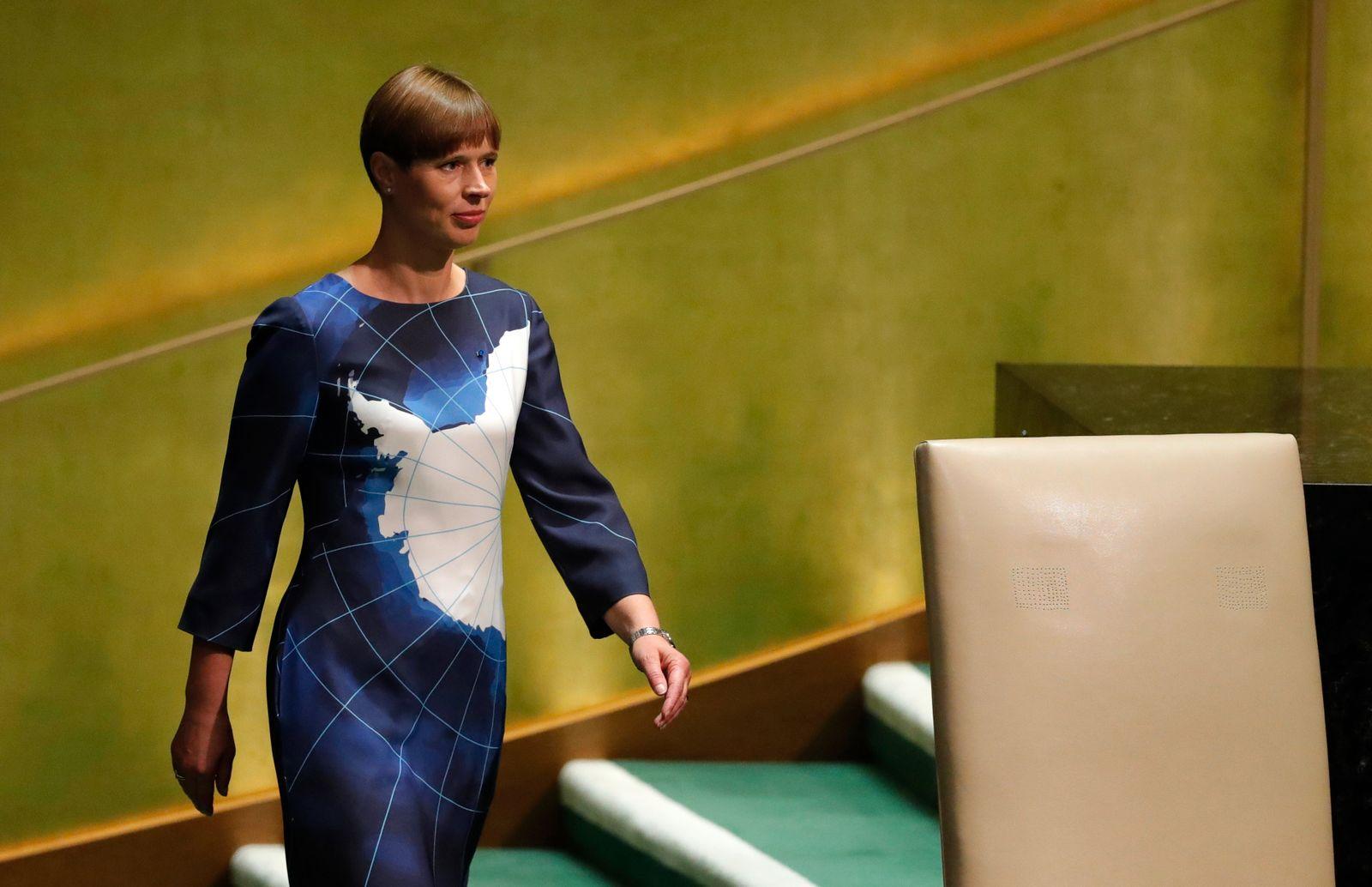 Kersti Kaljulaid - Lage