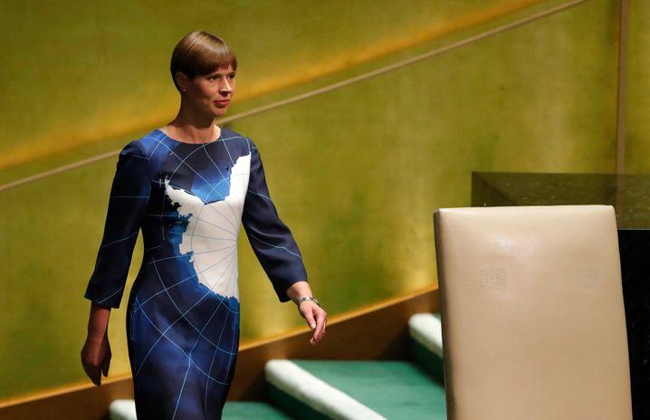 Kersti Kaljulaid (Archivbild)
