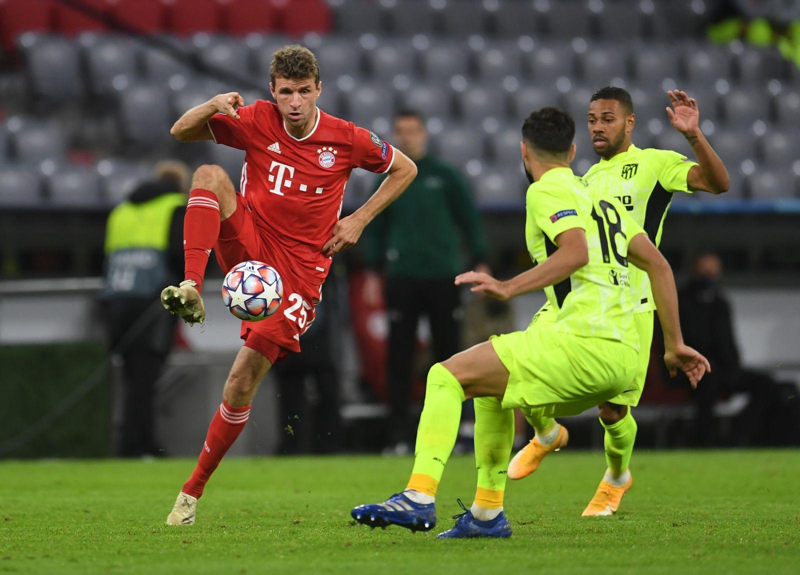 Champions League - Group A - Bayern Munich v Atletico Madrid