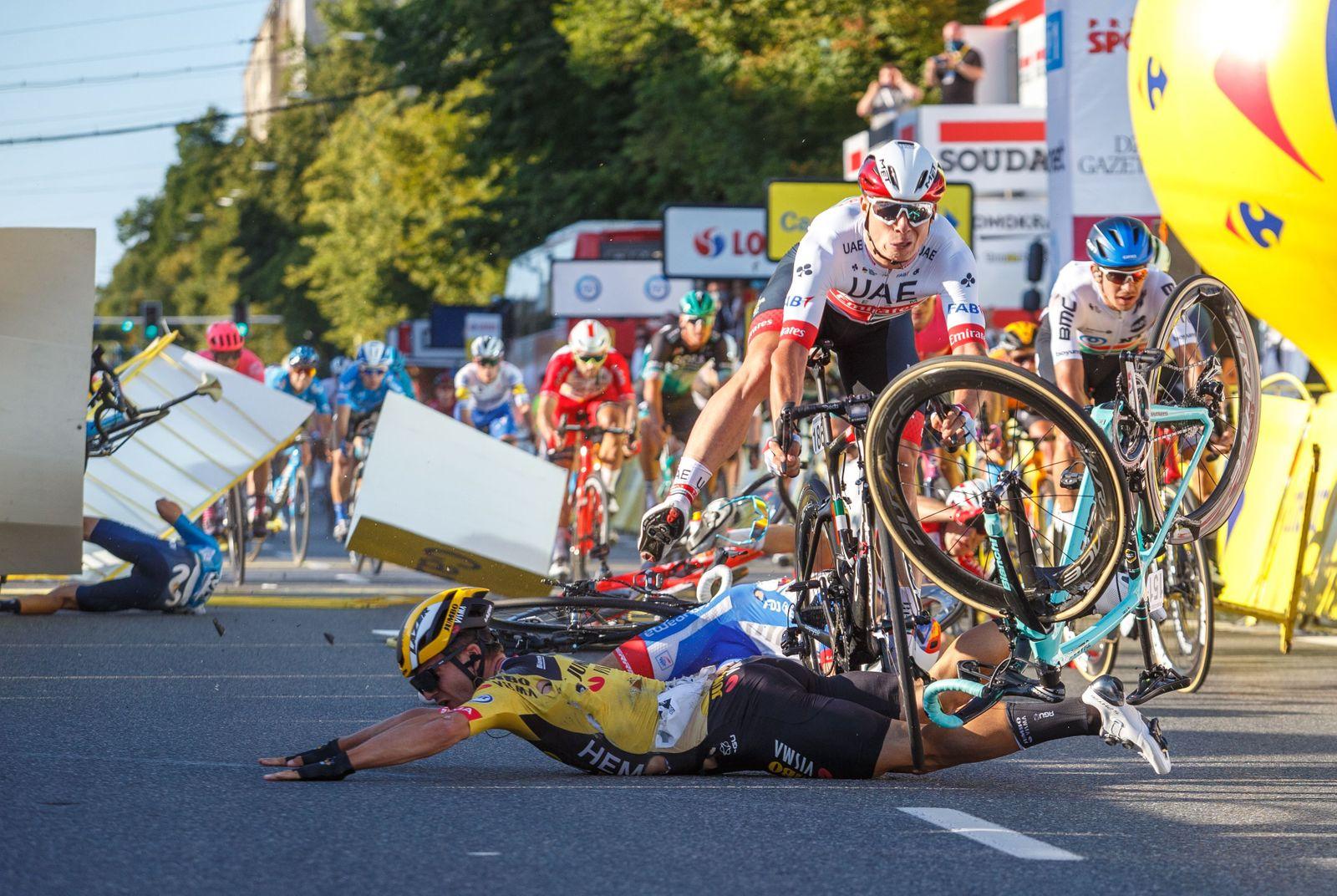 Tour de Pologne - 1st stage, Katowice, Poland - 05 Aug 2020