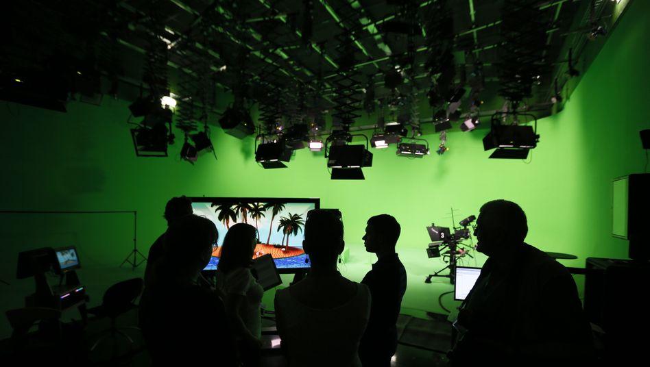 Studio von Russia Today in Moskau (2013)