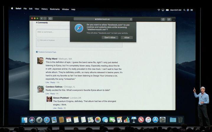 Apples Präsentation auf der WWDC