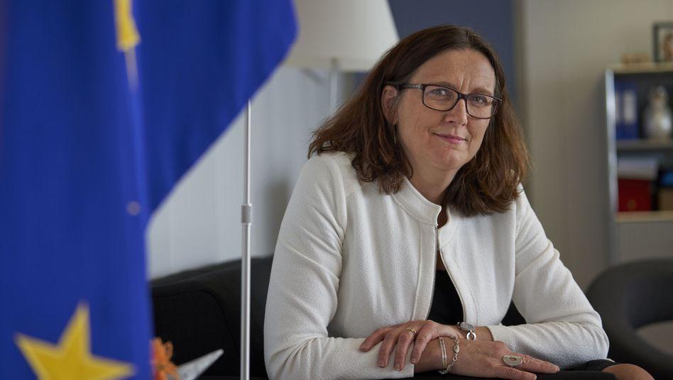 """EU-Kommissarin Malmström: """"Diese Unsicherheit schadet uns allen"""""""