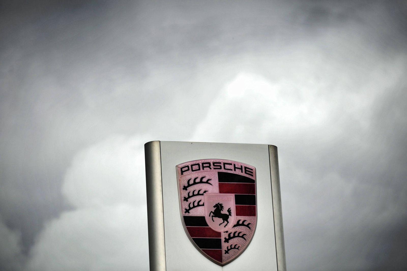 NICHT VERWENDEN Porsche Logo