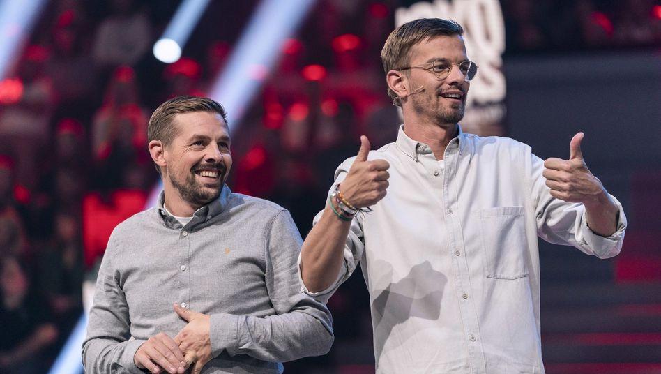 "Klaas Heufer-Umlauf und Joko Winterscheidt: ""Bullshit-Cancelling"" gegen Rechtspopulismus"