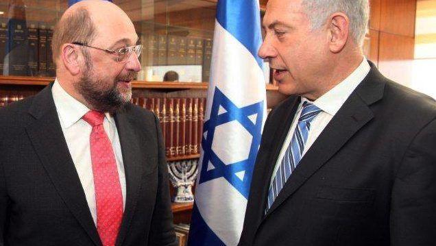 Schulz und Netanjahu in der Knesset: Schelte von Israels Regierungschef