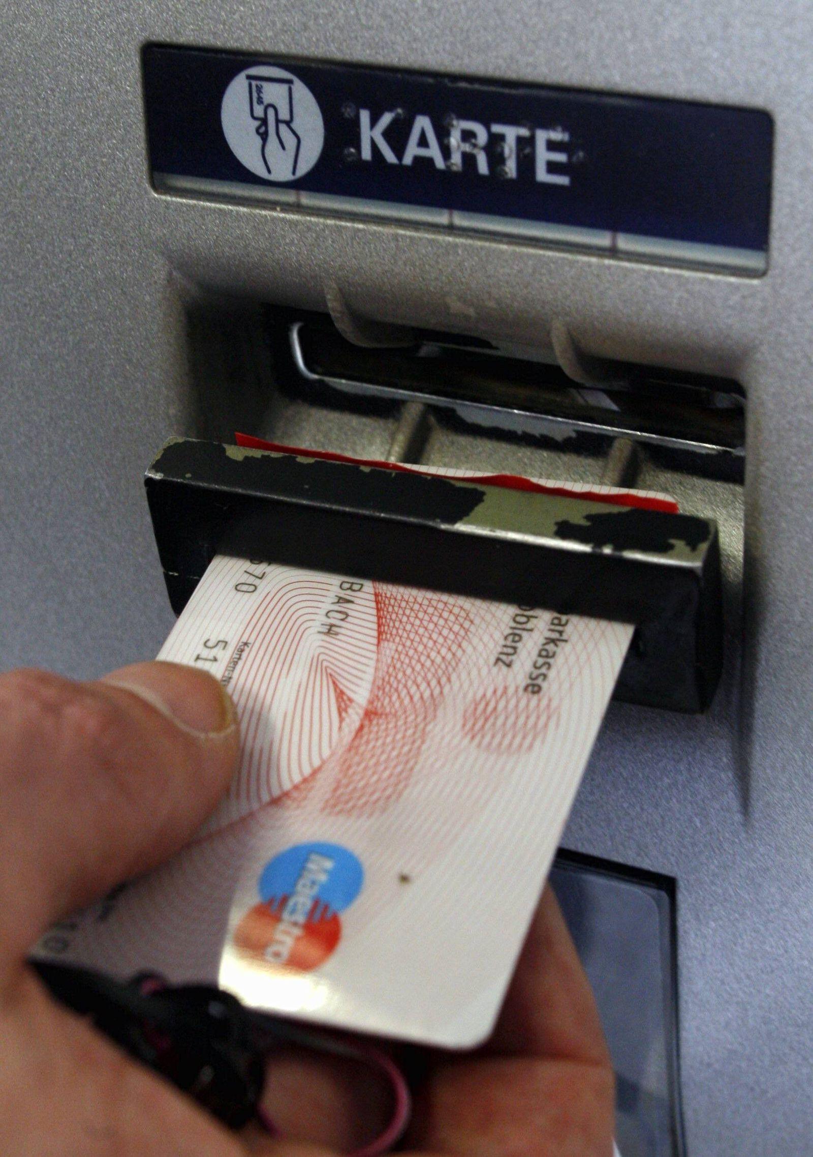 NICHT VERWENDEN Sparkassen Karte