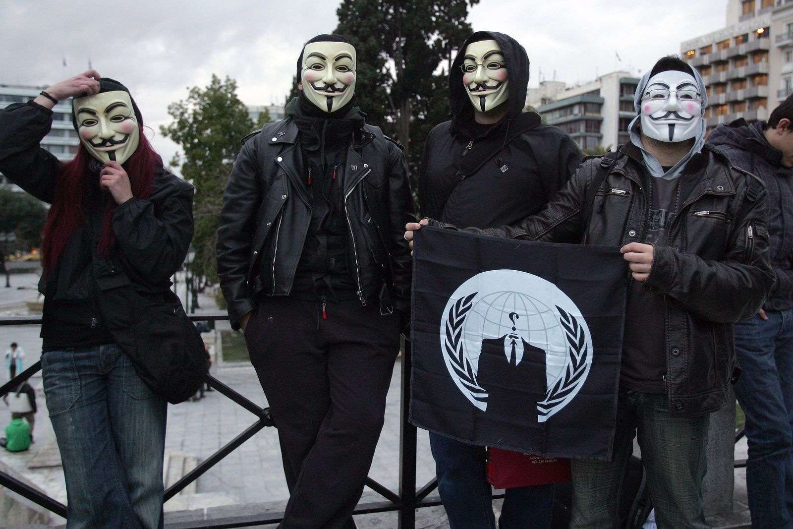 Anti-Acta demonstration in Athgens