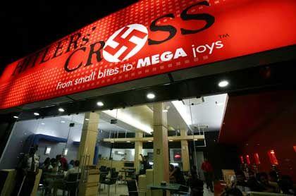 """Restaurant """"Hitlers Kreuz"""": Besorgte Anrufe von Juden aus der ganzen Welt"""
