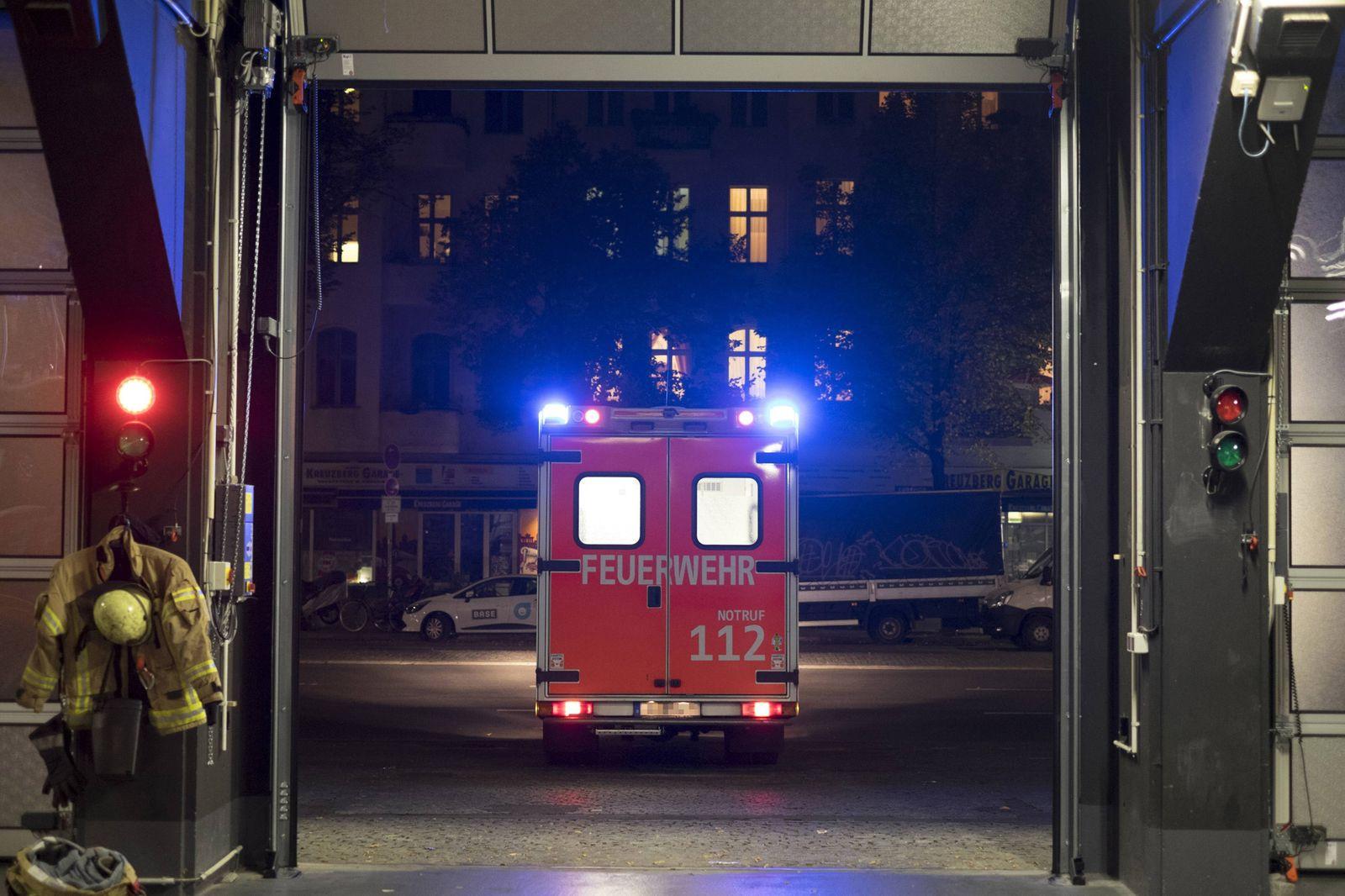 EINMALIGE VERWENDUNG Rettungswagen