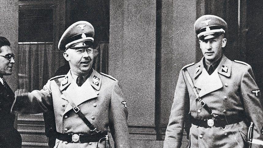 SS-Führer Himmler, Heydrich in Wien 1938