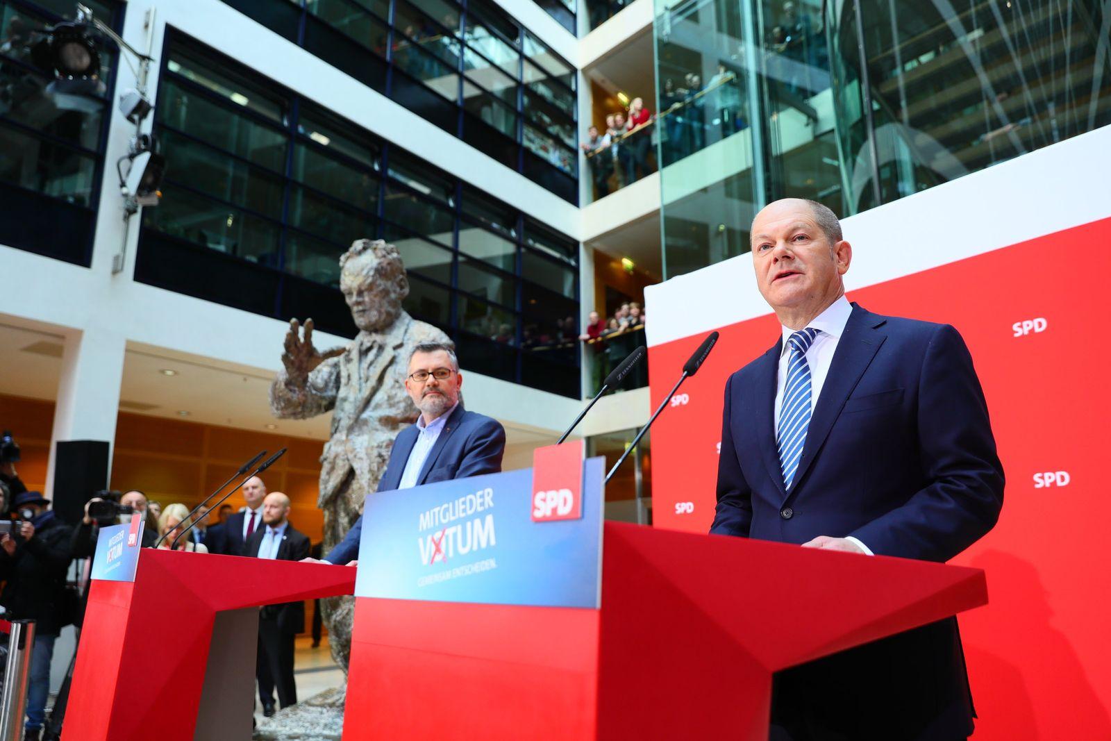 Ergebnis des SPD-Mitgliedervotums