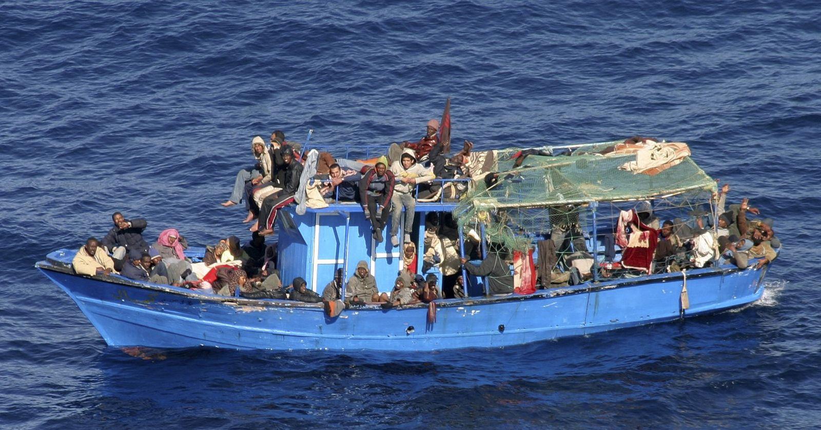 Flüchtlinge / Mittelmeer