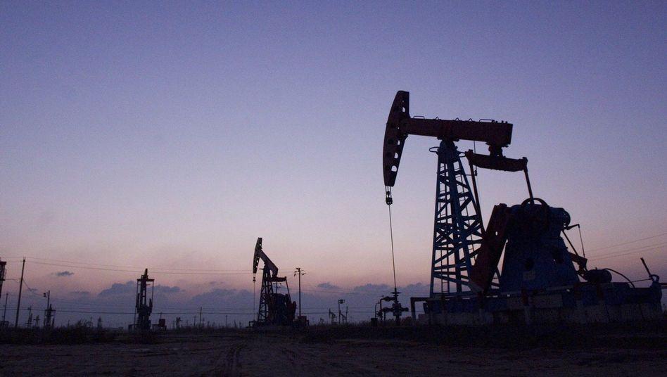 Ölfeld in China: 2,25 Milliarden Tonnen Rohöleinheiten verbrauchte das Land 2009