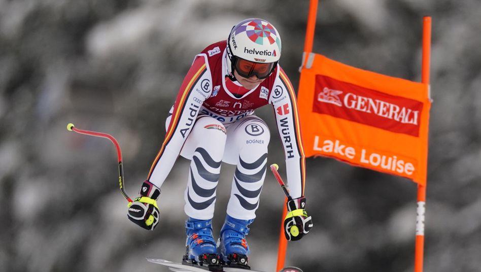 Viktoria Rebensburg holte ihren vierten Weltcupsieg im Super-G