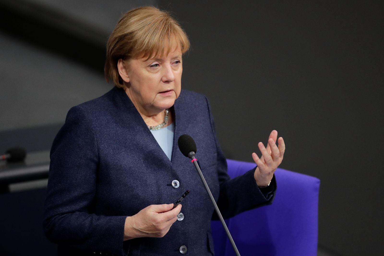 Bundestag session in Berlin