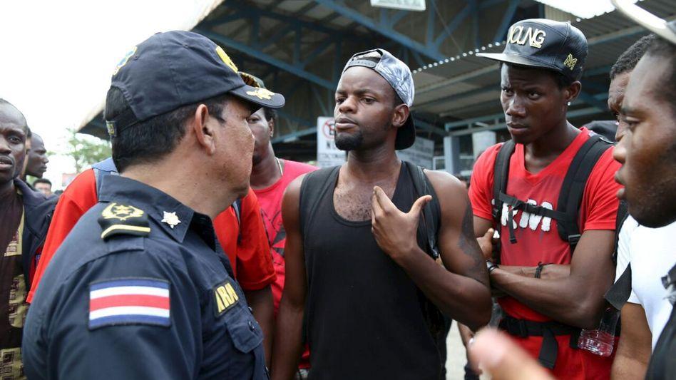 Kubanische Flüchtlinge in Paso Canoas