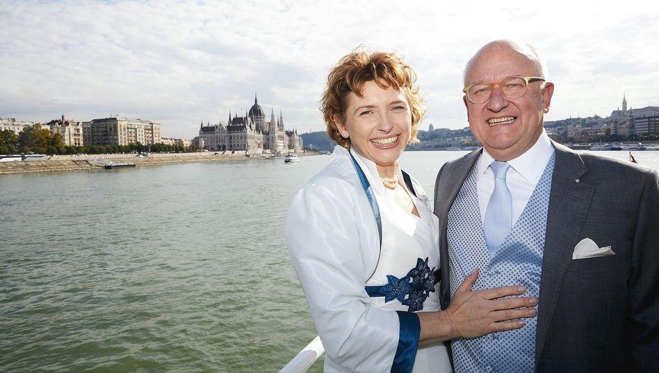 Ehepaar Beer, Illing am Tag ihrer Hochzeit in Budapest 2018