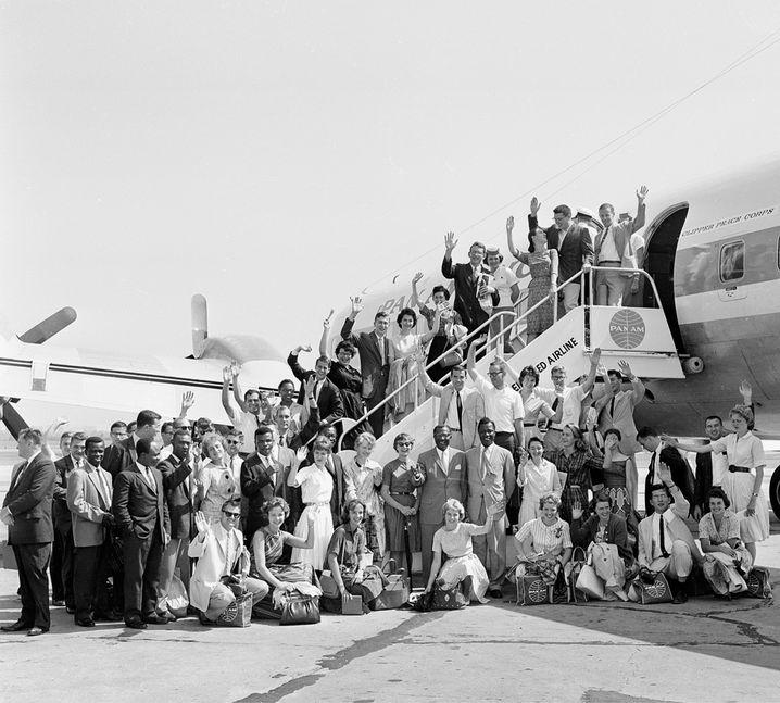 Danke JFK: Die ersten Mitglieder des Peace Corps, 1961
