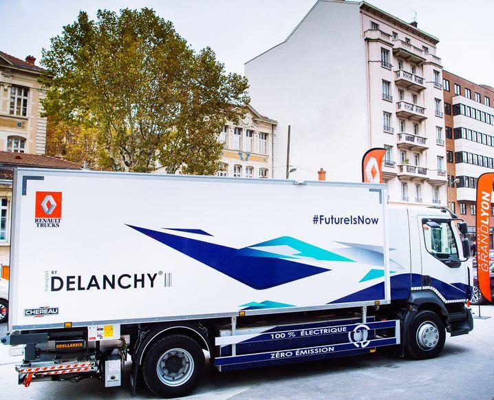 Elektro-Lkw von Renault