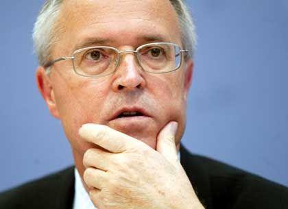 Minister auf Abruf: Hans Eichel