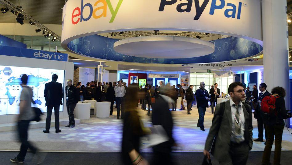 Ebay und Pay Pal: Das Tochterunternehmen soll in 2015 an die Börse gebracht werden.