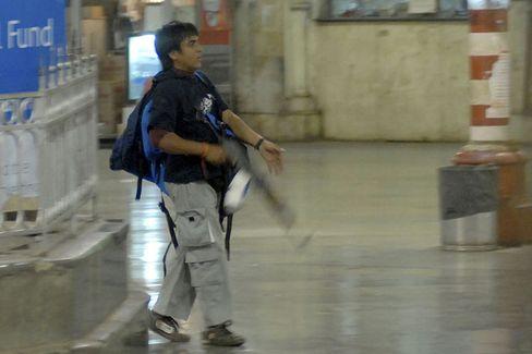 One of the gunmen who paralyzed Mumbai.