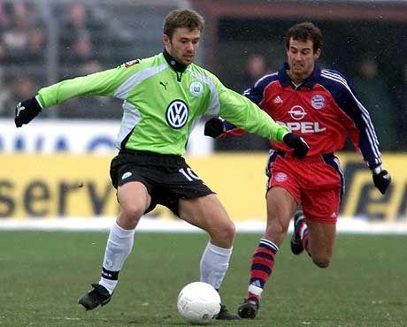 Bundesligaprofi Krzysztof Nowak im Februar 2001: Taubheitsgefühl in den Armen