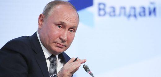 Nord Stream 2:<br>Putin verspricht schnelle Gaslieferungen bei Betriebsgenehmigung