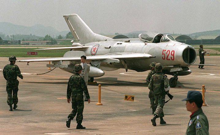 Nordkoreanische MIG-19