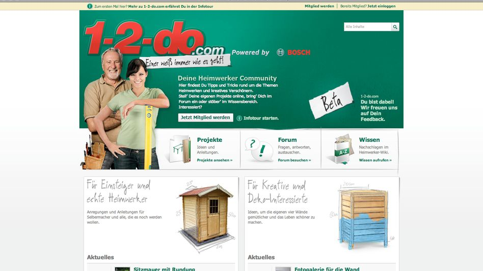 Community 1-2-do: Bosch bohrt sein Web-Marketing auf