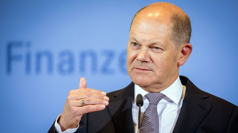 Bundesfinanzminister Olaf Scholz plant ein transparentes Transparenzregister