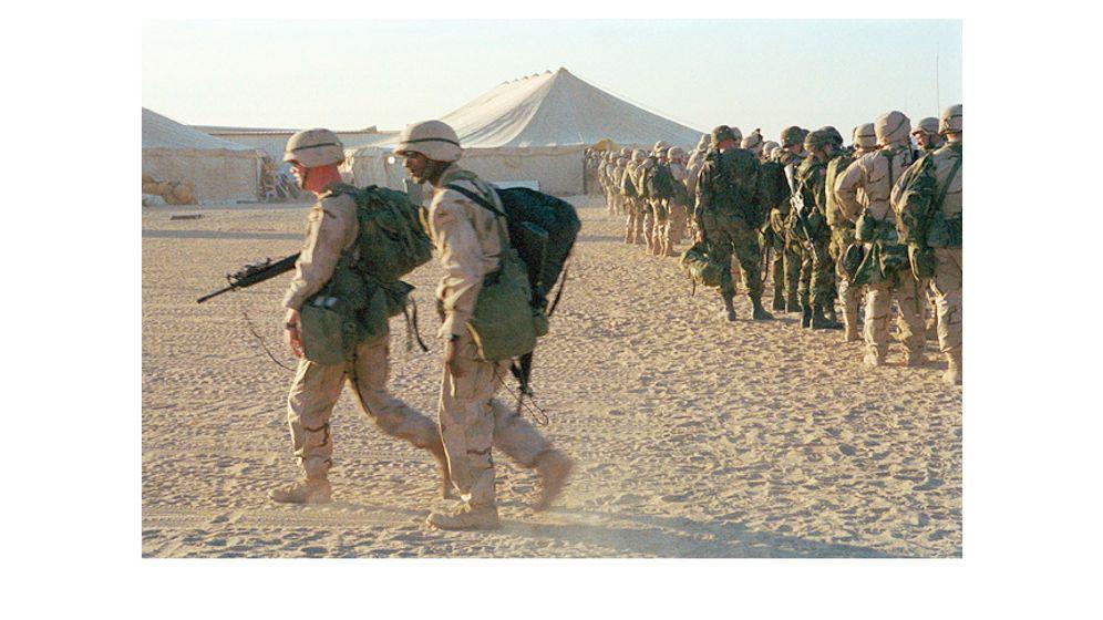 Fünf Jahre Feldzug gegen den Irak: Auge in Auge mit dem Krieg