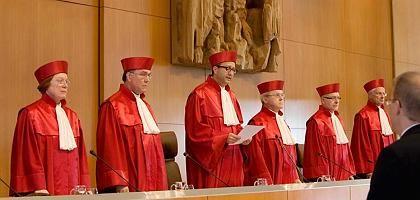 Verfassungsrichter in Karlsruhe: Furcht vor Souveränitätsverlust