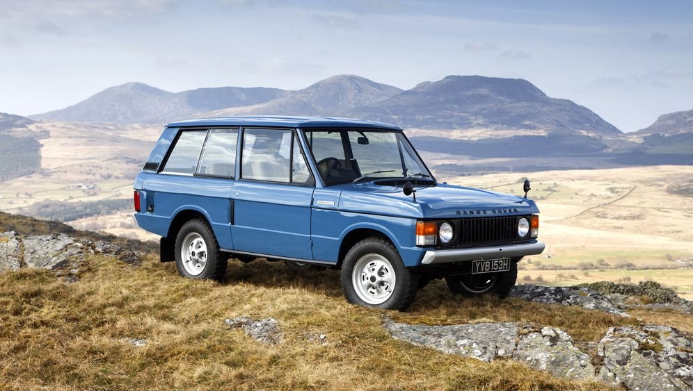 40 Jahre Range Rover: Der erste SUV der Welt