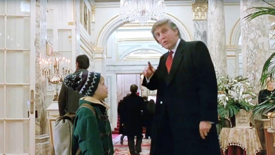 Hier geht's zur Lobby: Donald Trump in »Kevin – Allein in New York«
