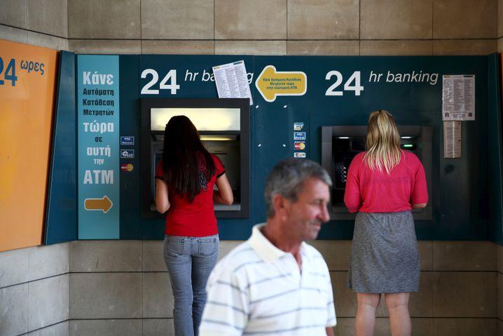 Geldautomaten in Nikosia