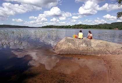 Alles, was Schweden ausmacht: Der Vättern im Süden des Landes